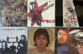 "PAUL McCARTNEY/WINGS/JOHN LENNON/RINGO STARR - LPs/7"" BOX SET"