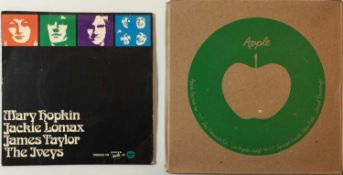 "APPLE - SHIPPING BOX WITH MARY HOPKIN 7"" PLUS WALLS ICE CREAM EP"