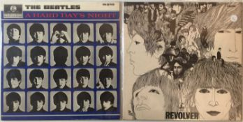 THE BEATLES - A HARD DAY'S NIGHT & REVOLVER (ORIGINAL UK COPIES)