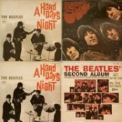 THE BEATLES - JAPANESE PRESSING LPs