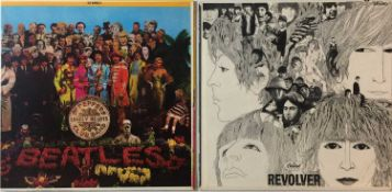 THE BEATLES - REVOLVER & SGT. PEPPER'S LPs (ORIGINAL/EARLY US PRESSINGS - SUPERB COPIES)
