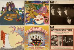 THE BEATLES & RELATED - LPs (WITH 60s ORIGINALS)