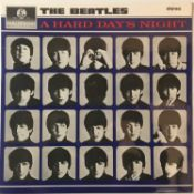 THE BEATLES - A HARD DAY'S NIGHT LP (3RD UK STEREO PRESSING - PCS 3058 ARCHIVE COPY)