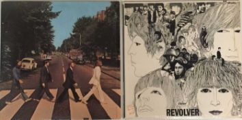 THE BEATLES - REVOLVER & ABBEY ROAD LPs (ORIGINAL US STEREO PRESSINGS - SUPERB COPIES)