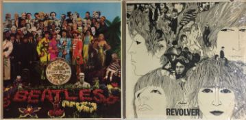 THE BEATLES - REVOLVER & SGT. PEPPER'S LPs (ORIGINAL US MONO COPIES - SUPERB CONDITION)