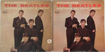 THE BEATLES - INTRODUCING THE BEATLES (ORIGINAL US PRESSING LPs)