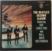 THE BEATLES - THE BEATLES' SECOND ALBUM LP (ORIGINAL ODEON GERMAN EXPORT - ZTOX 5558)