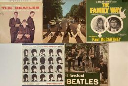 THE BEATLES & RELATED - OVERSEAS PRESSING LPs