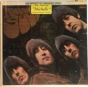 THE BEATLES - RUBBER SOUL LP (US STEREO PRESSING - CAPITOL ST-2442 - WITH HYPE STICKER)