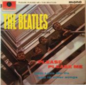 THE BEATLES - PLEASE PLEASE ME LP (1ST UK MONO 'BLACK AND GOLD' - PMC 1202)