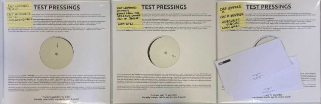 DEF LEPPARD - WHITE LABEL TEST PRESSINGS (2021 RELEASES)