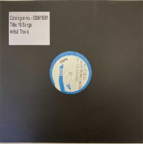 TRAVIS - 10 SONGS LP (2020 WHITE LABEL TEST PRESSING)