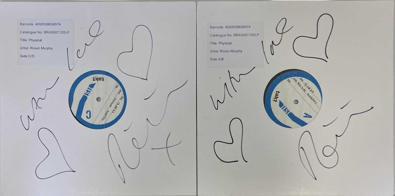 ROISIN MURPHY - ROISIN MACHINE LP (2020 WHITE LABEL TEST PRESSING - SIGNED)