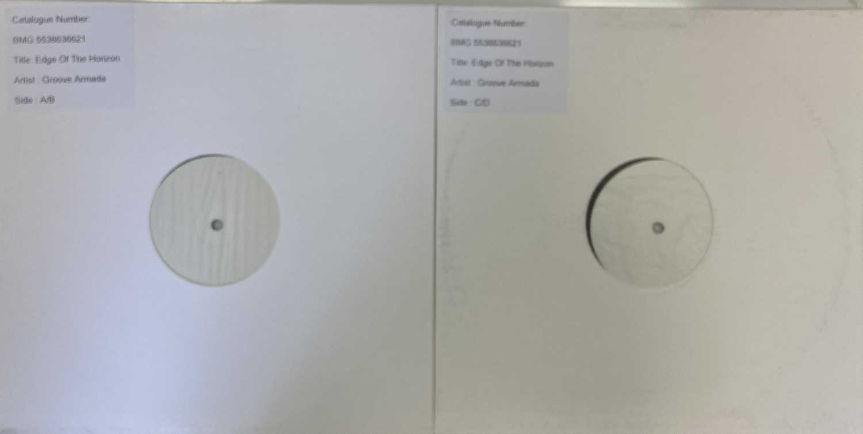 GROOVE ARMADA - EDGE OF THE HORIZON LP (2020 WHITE LABEL TEST PRESSING)