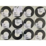 STATUS QUO 1980S SINGLES COLLECTION PART ONE - WHITE LABEL TEST PRESSINGS.