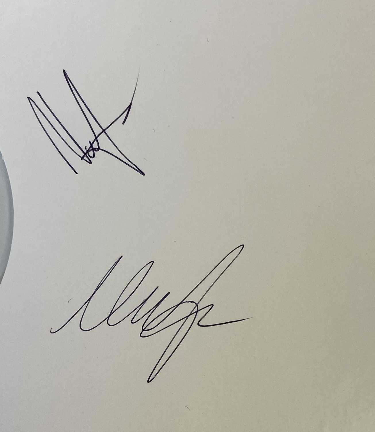 CRANBERRIES - STARS WHITE LABEL TEST PRESSING SIGNED BY THE BAND AND EILEEN O'RIORDAN. - Image 3 of 4