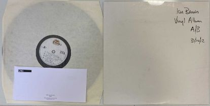 IAN BROWN - 'COLLECTED' ACETATE LP (FICTION 2012 RELEASE)