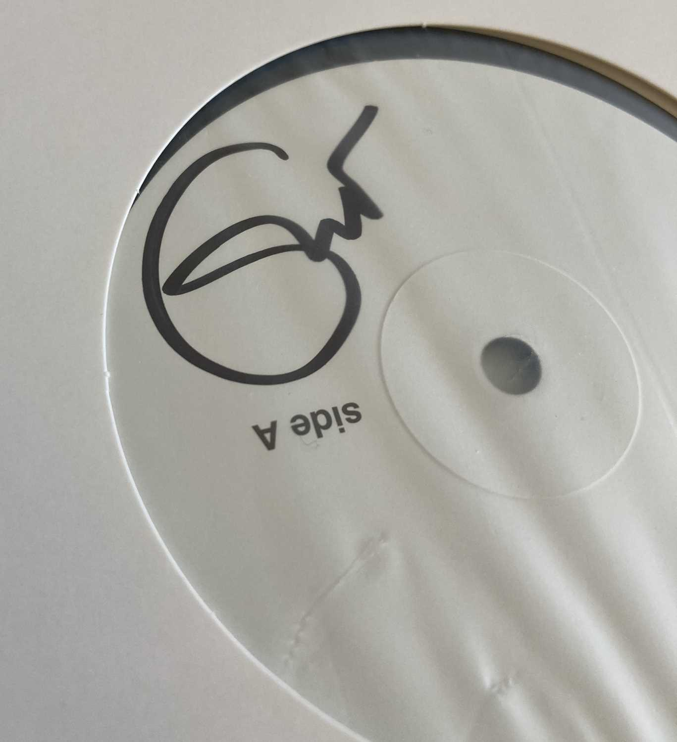 ERIC CLAPTON SIGNED WHITE LABEL TEST PRESSING.