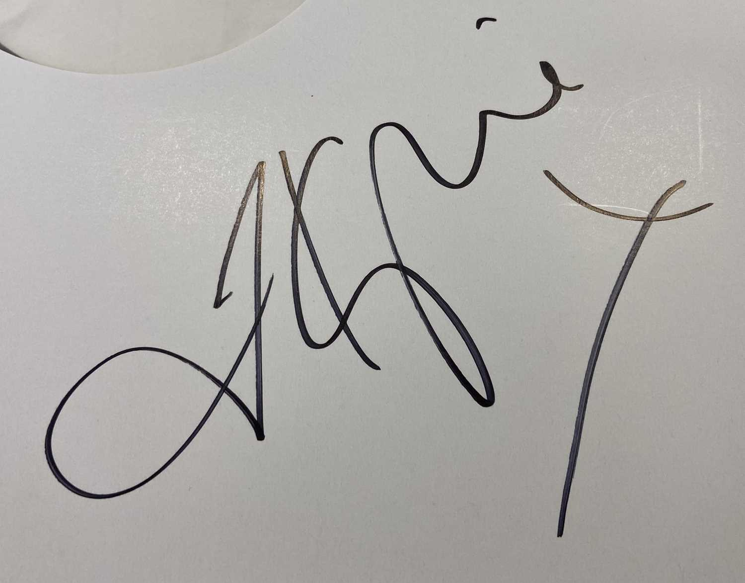 KYLIE MINOGUE - DISCO LP (SIGNED WHITE LABEL TEST PRESSING) - Image 2 of 2