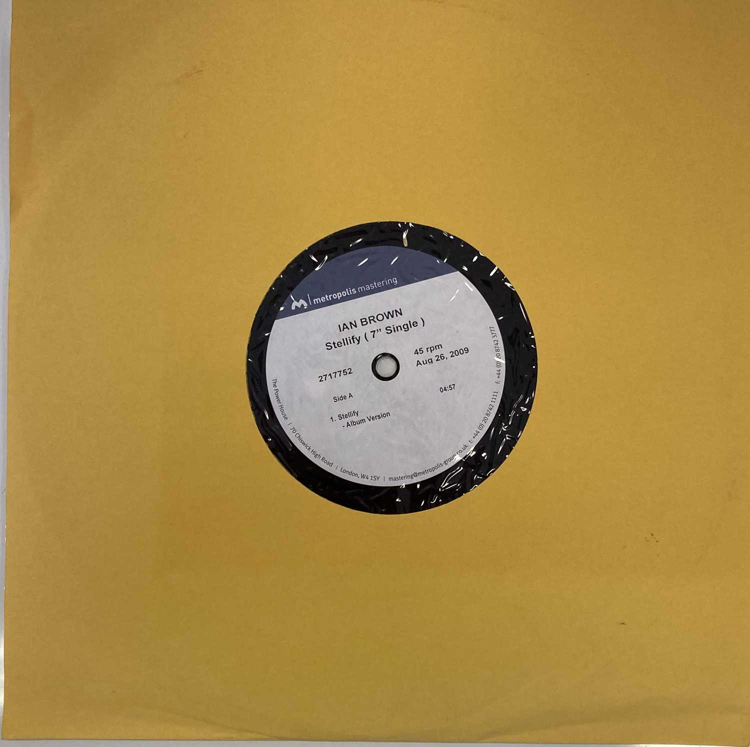 "IAN BROWN - STELLIFY 7"" ACETATE RECORDING (2717752)"