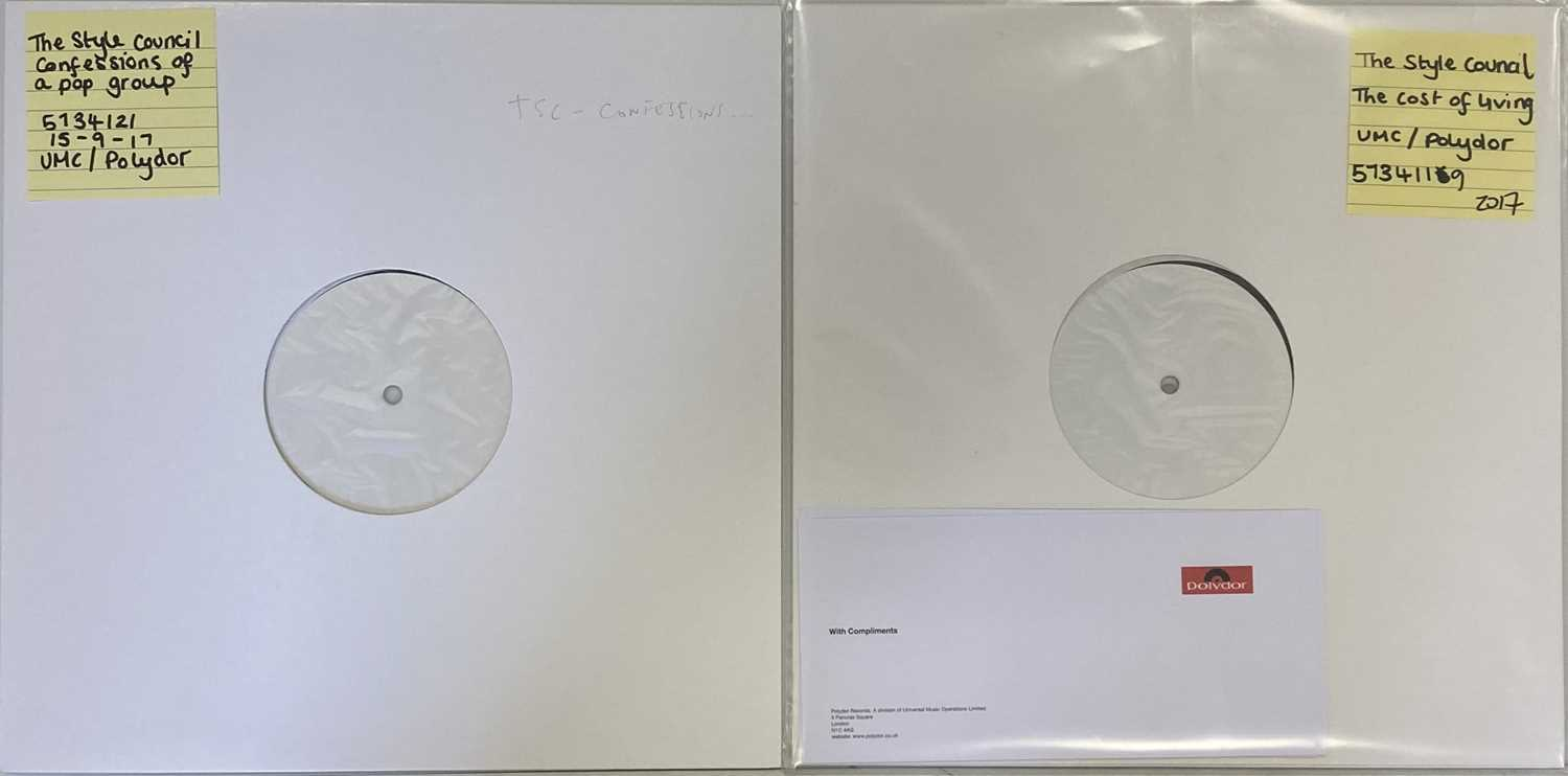 THE STYLE COUNCIL - 2017 WHITE LABEL TEST PRESSING LPs