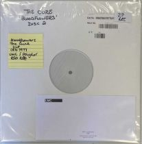 THE CURE - BLOODFLOWERS LP (WHITE LABEL TEST PRESSING - FOR RSD 2020)