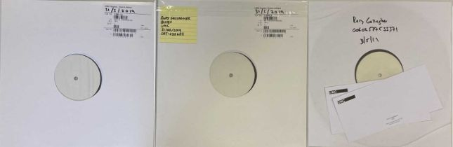 RORY GALLAGHER - LPs (2019 WHITE LABEL TEST PRESSING RELEASES)