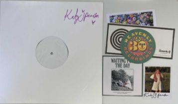 KATY J PEARSON - RETURN LP (SIGNED 2020 WHITE LABEL TEST PRESSING)