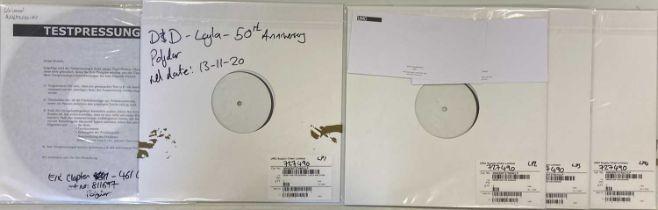 DEREK & THE DOMINOES/ERIC CLAPTON - WHITE LABEL TEST PRESSING LPs