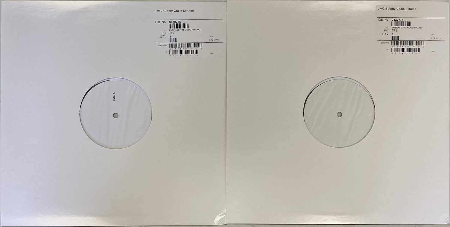 EMBRACE - THE GOOD WILL OUT LP (2019 WHITE LABEL TEST PRESSING - UMG 0830776) - Image 3 of 3