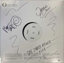 THE JADED HEARTS CLUB - LIVE THE THE 100 CLUB LP (SIGNED 2020 WHITE LABEL TEST PRESSING)