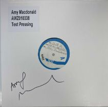 AMY MACDONALD - THE HUMAN DEMANDS LP (SIGNED 2020 WHITE LABEL TEST PRESSING)