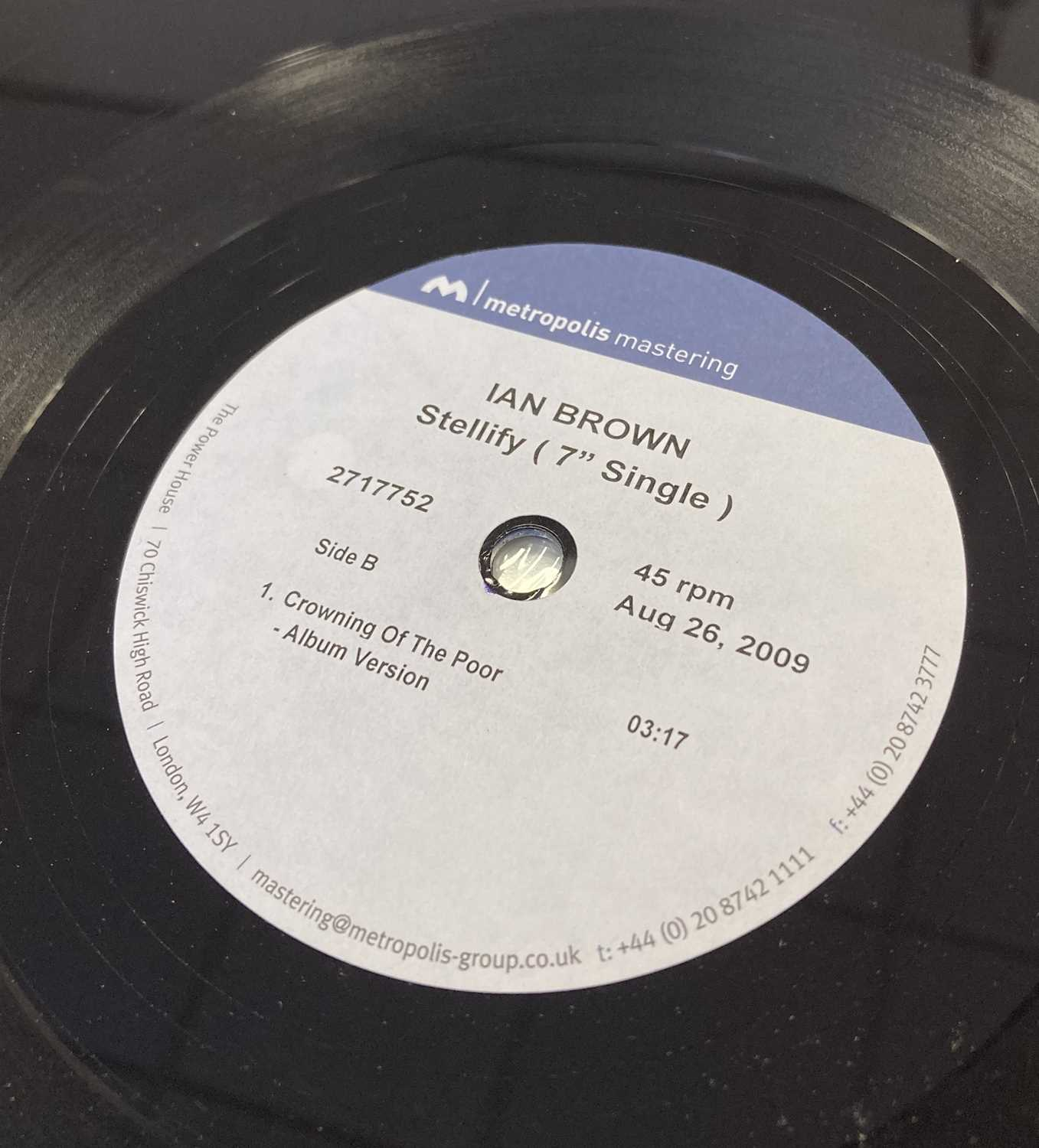 "IAN BROWN - STELLIFY 7"" ACETATE RECORDING (2717752) - Image 3 of 4"