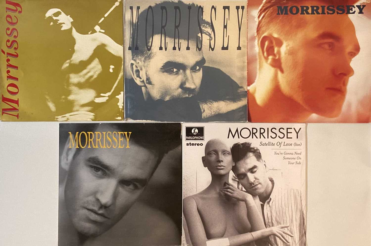 """THE SMITHS/ MORRISSEY - LPs/ 12"""" - Image 3 of 3"""