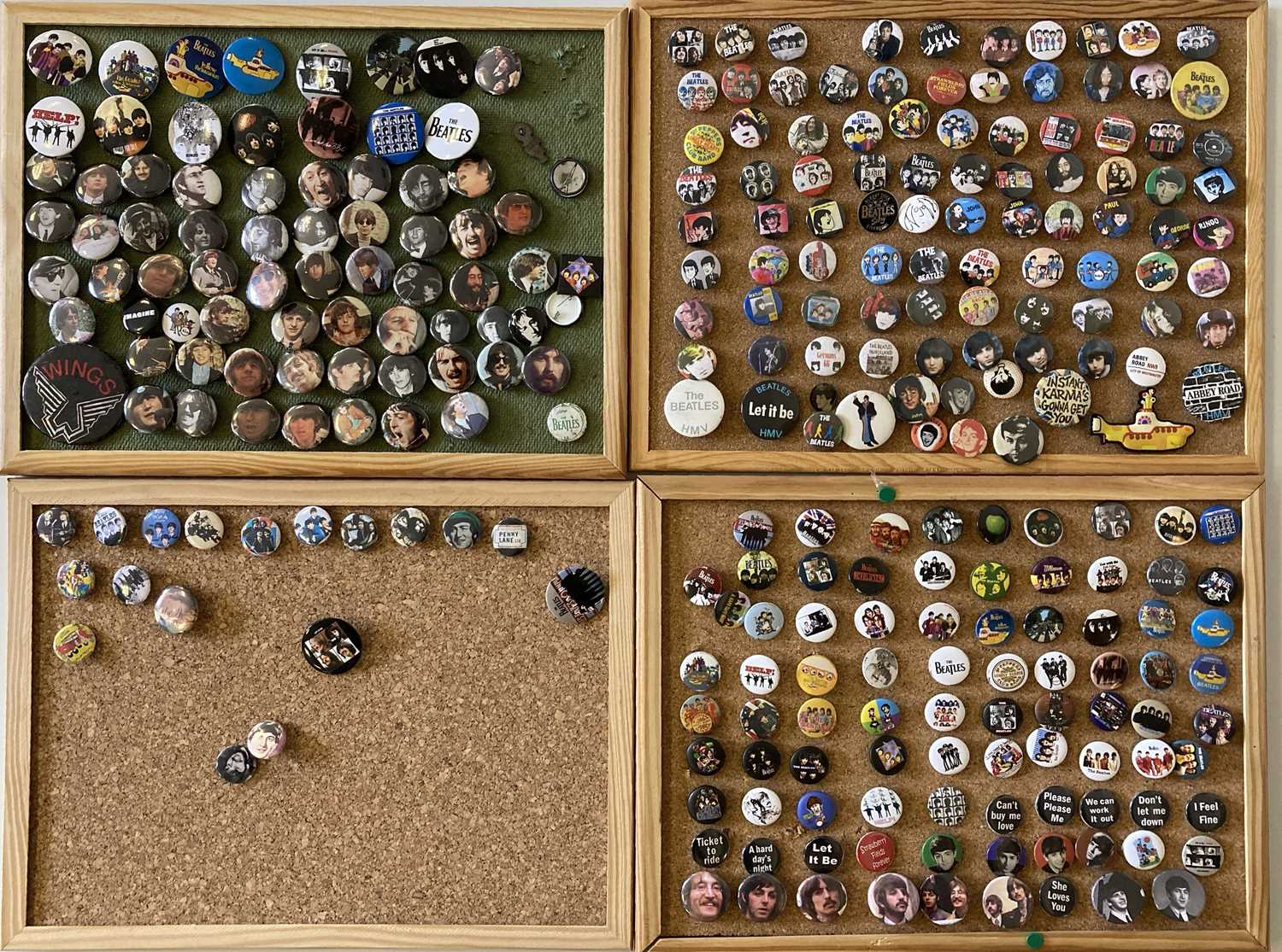 BEATLES BADGE COLLECTION. - Image 3 of 4