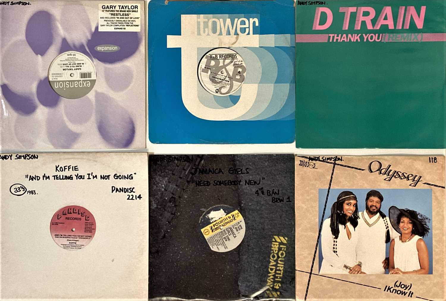 """DISCO/SOUL/HIGH NRG - 12"""" COLLECTION. - Image 2 of 5"""