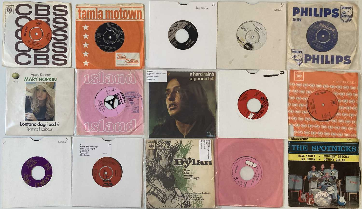 """50s/60s - ROCK & POP - 7"""" COLLECTION."""