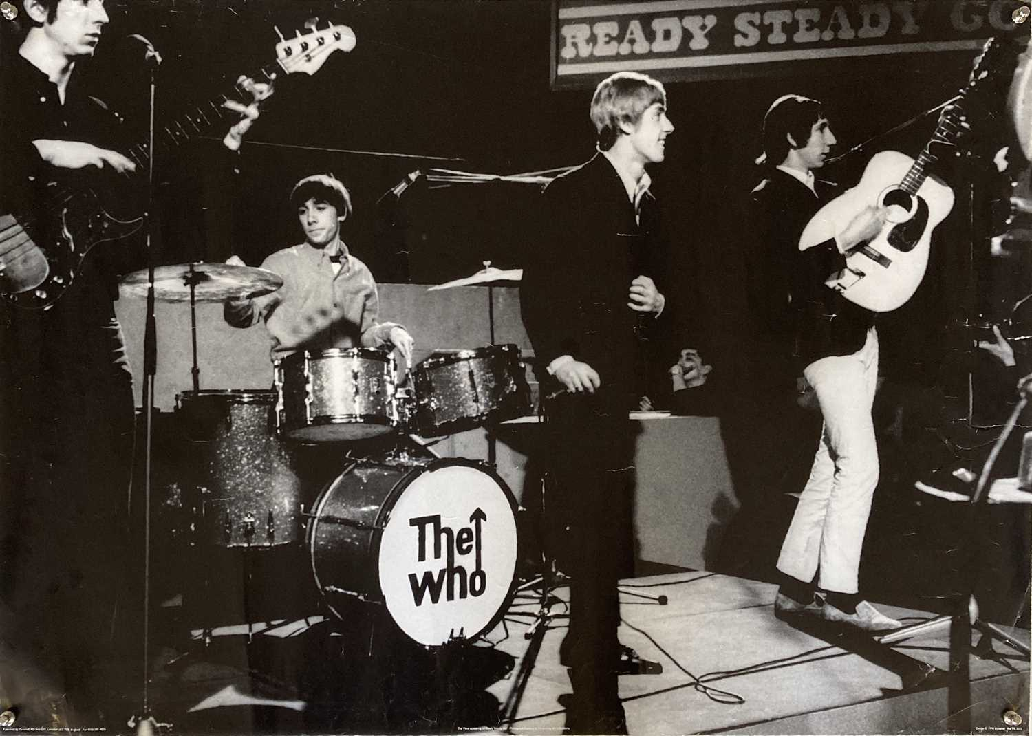 THE WHO / SMALL FACES POSTERS INC THE KIDS ARE ALL RIGHT US ONE SHEET. - Image 2 of 4