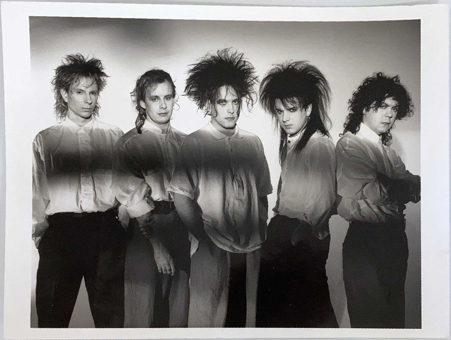 MUSIC PHOTOGRAPHS - THE CURE. - Image 4 of 5