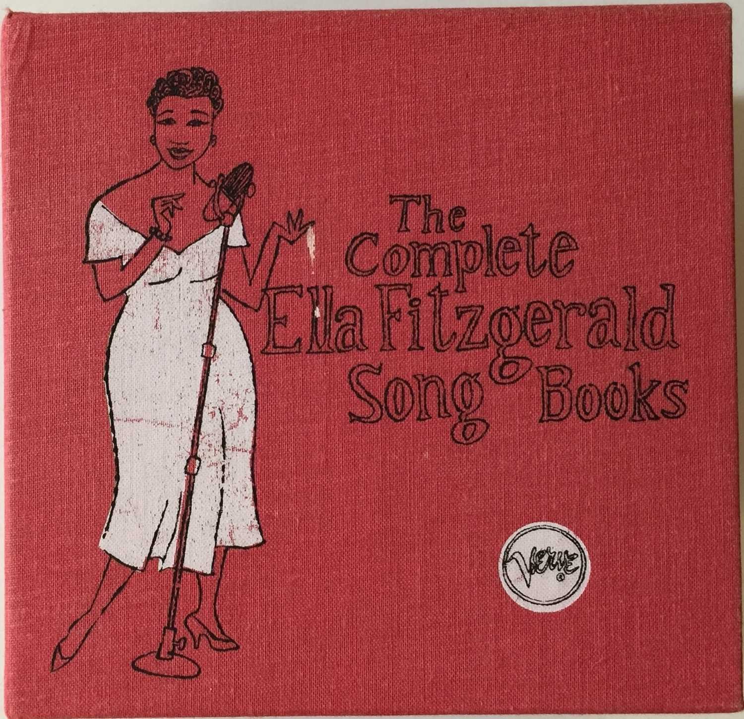 ELLA FITZGERALD - THE COMPLETE SONG BOOKS (16 CD SET - 314519 832-2)