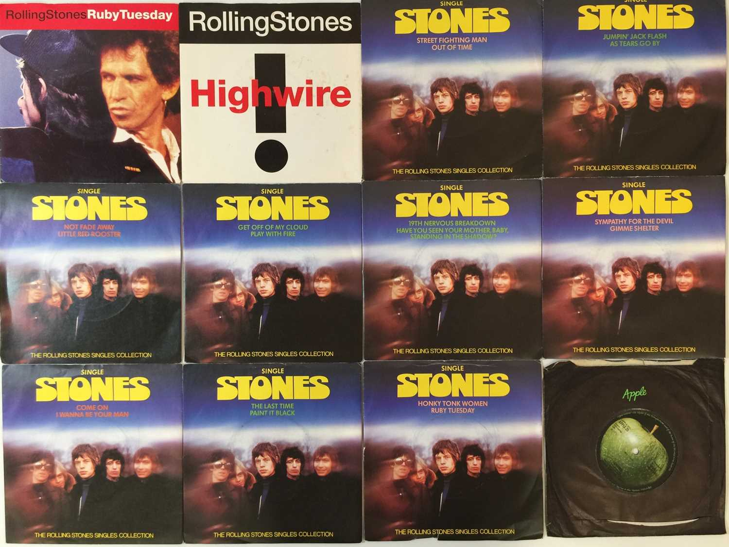 """THE ROLLING STONES AND RELATED - 7"""" PACK - Image 3 of 3"""