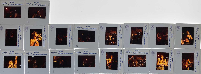 AC/DC PHOTO TRANSPARENCIES. - Image 8 of 17