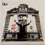 "BLUR - CRAZY BEAT 7"" (ORIGINAL UK BANKSY DESIGNED SLEEVE - PARLOPHONE R 6610)"