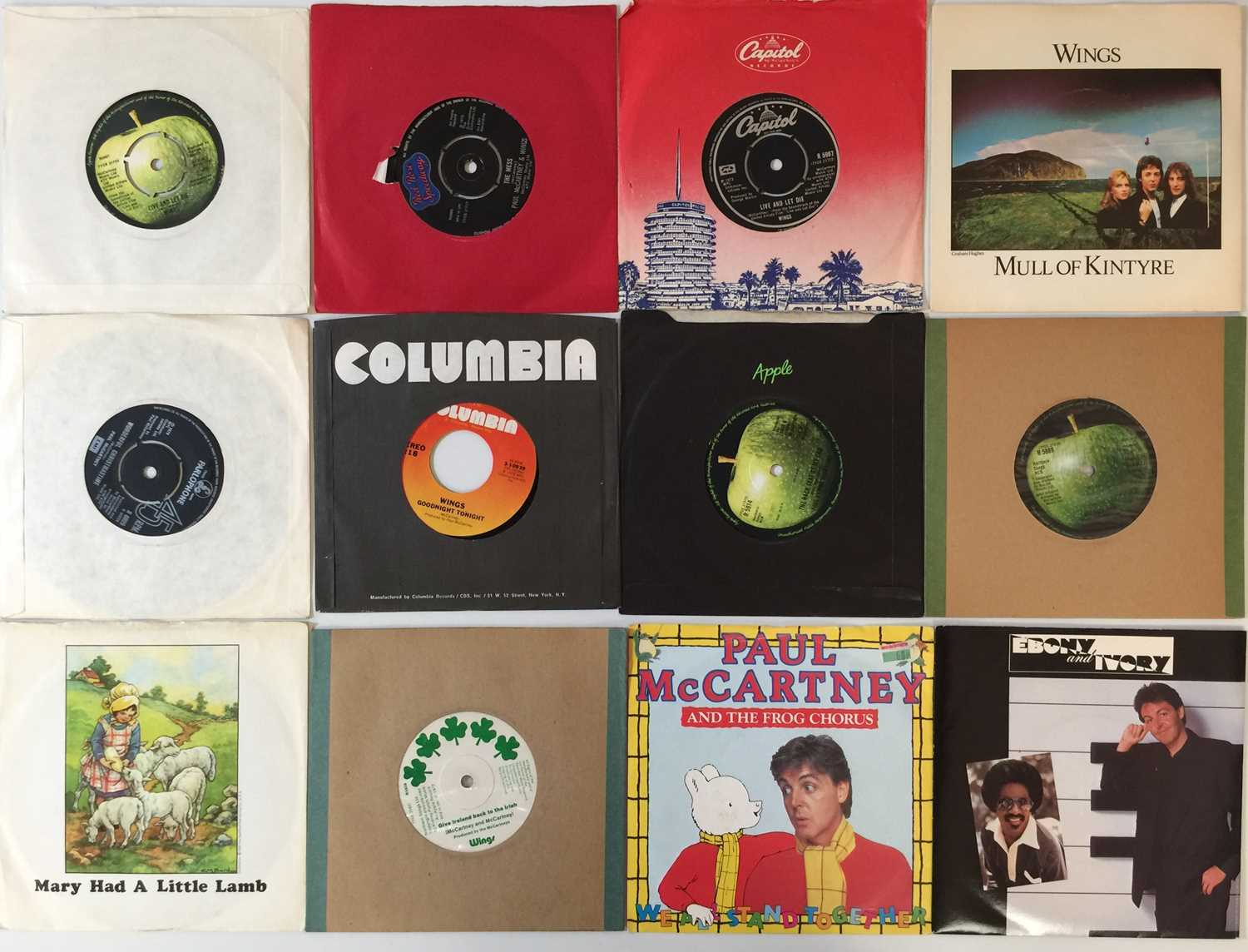 """WINGS/ PAUL MCCARTNEY AND RELATED - 7"""" INC DEMOS - Image 2 of 2"""