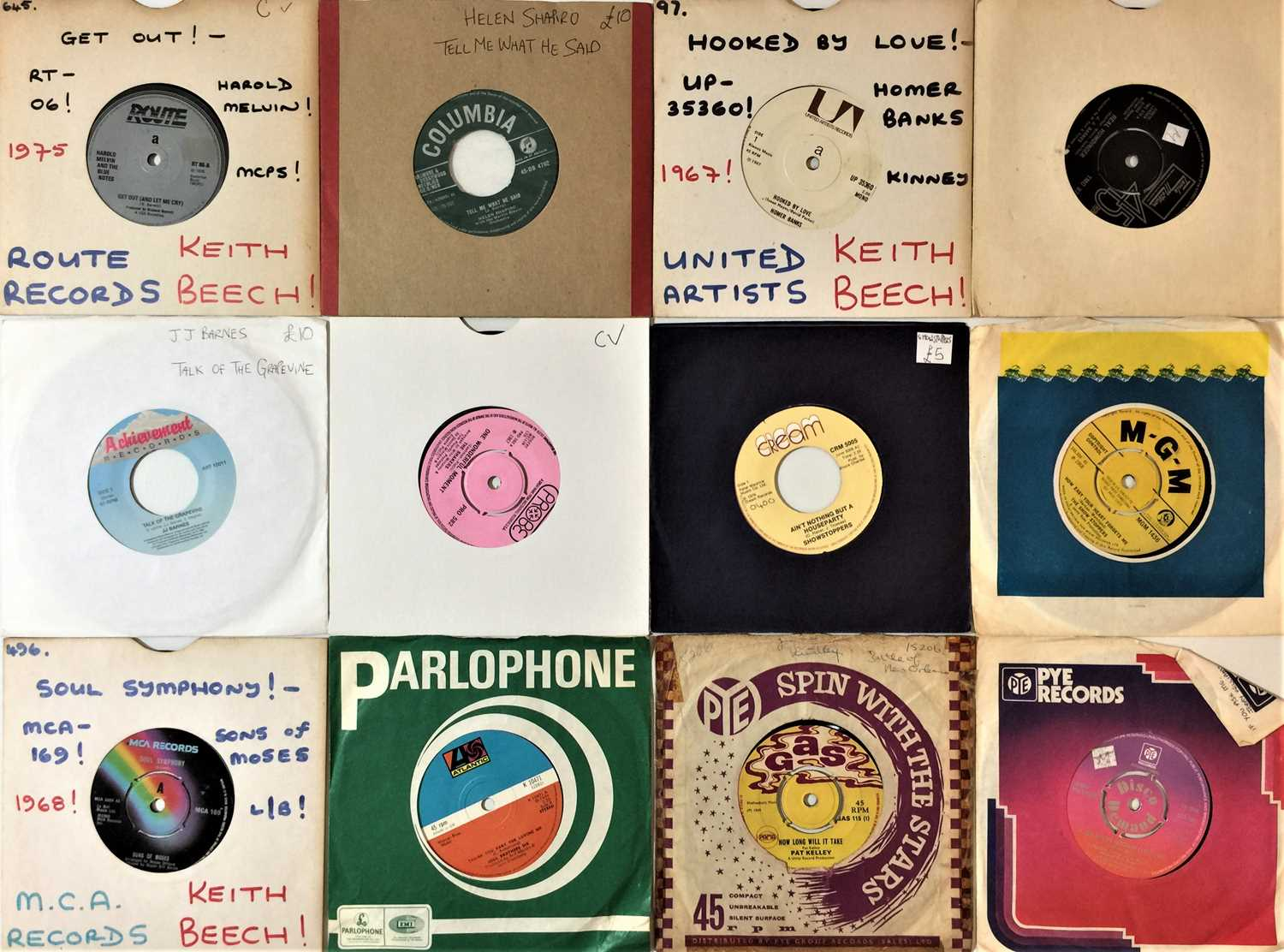 """60s/ 70s SOUL/ NORTHERN/ MOTOWN/ FUNK - 7"""" COLLECTION - Image 2 of 4"""