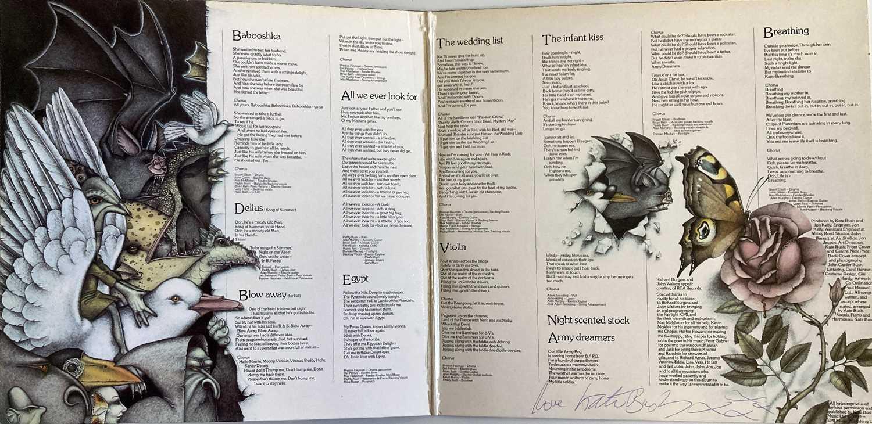 KATE BUSH SIGNED LP. - Image 3 of 6