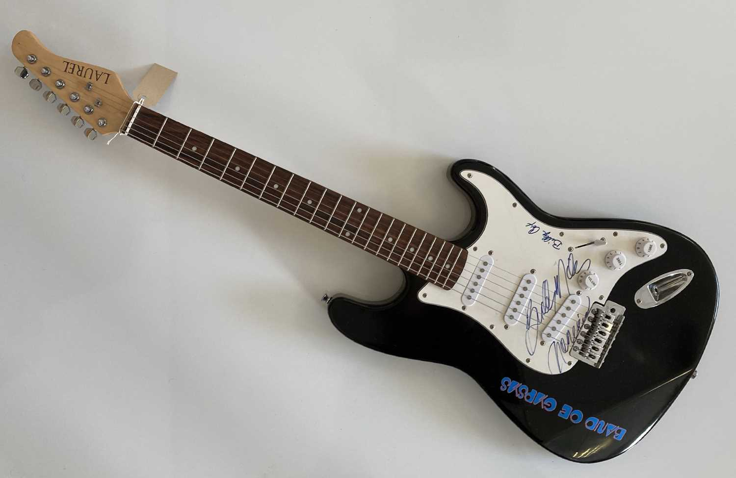 BUDDY MILES / BILLY COX SIGNED STRATOCASTER.
