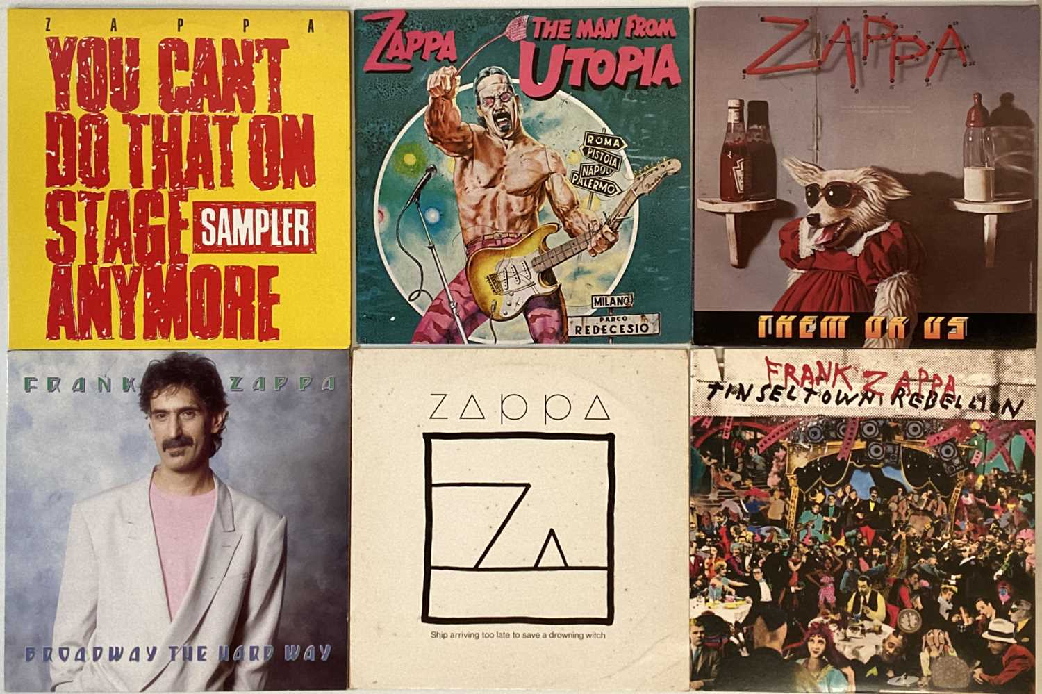 FRANK ZAPPA - LP COLLECTION