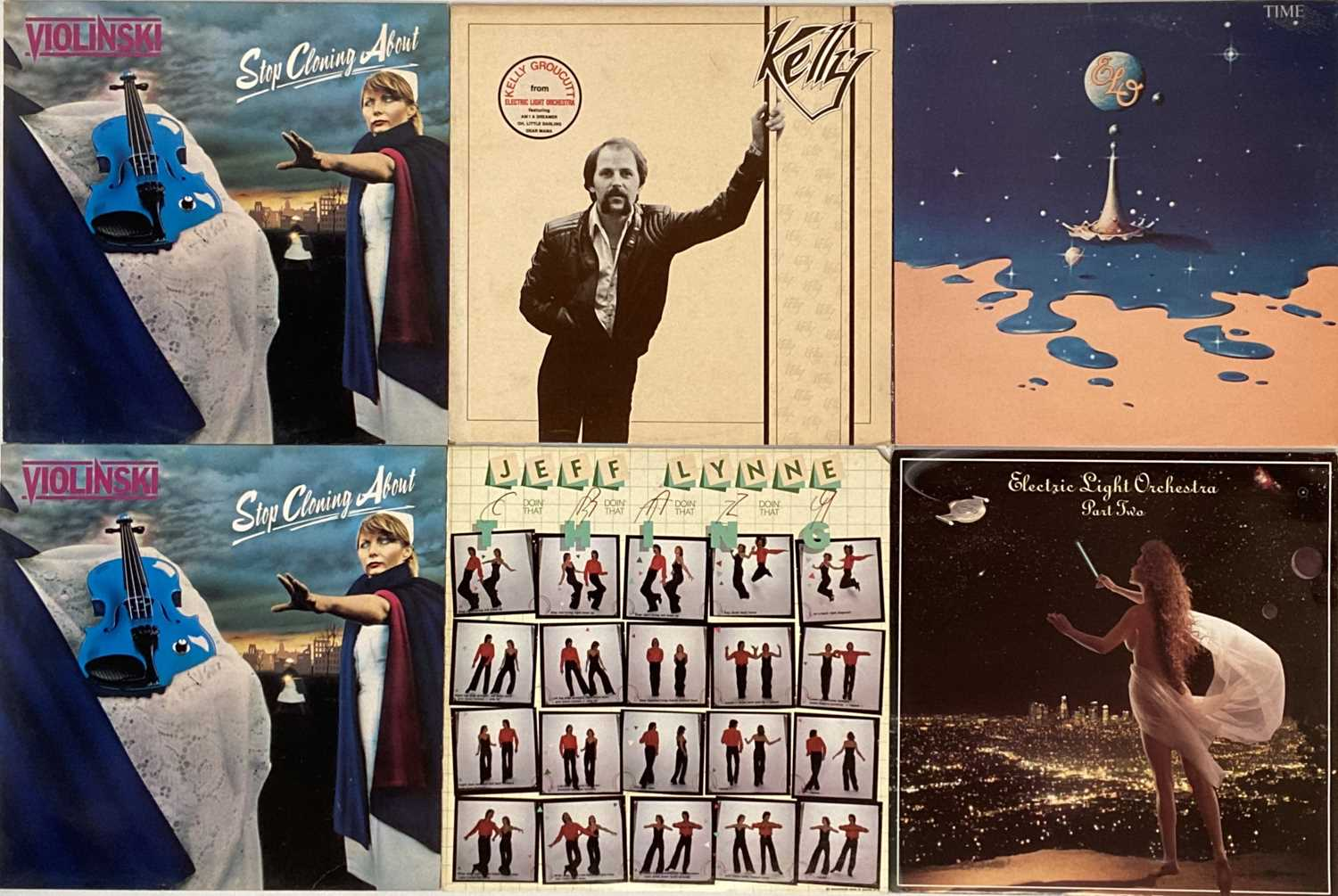 ELO AND RELATED - LPs - Image 3 of 5