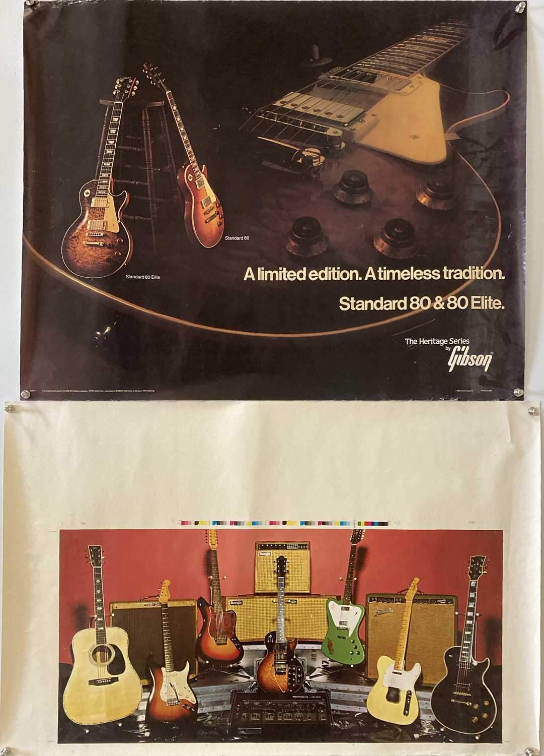 GUITAR PROMOTIONAL POSTERS. - Image 3 of 3